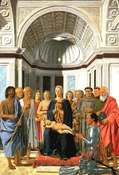 Piero della Francesca La Vergine con il Bambino e santi.jpg